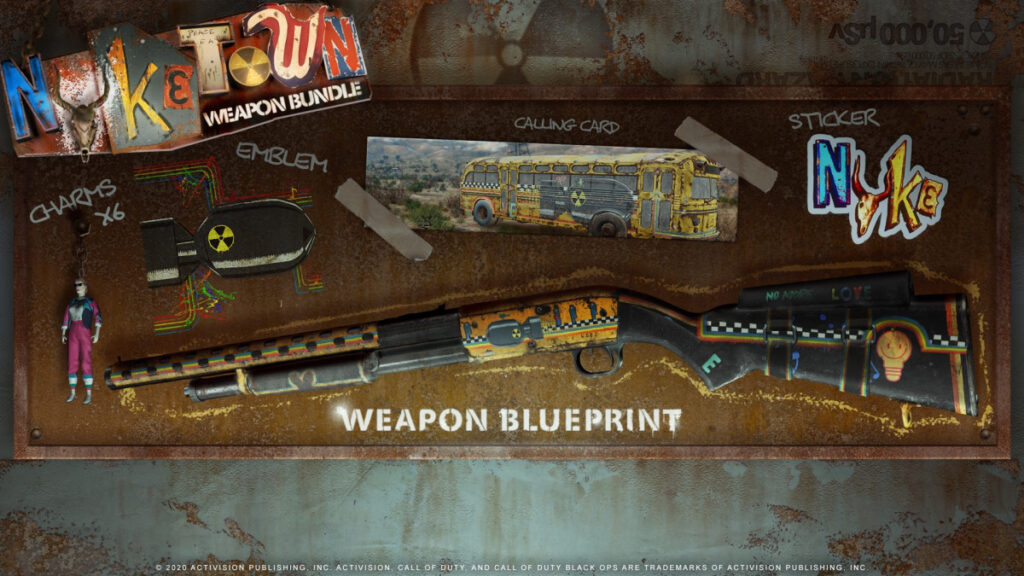 Get the Nuketown Weapon Bundle Free with Purchase of Call of Duty: Black Ops Cold War