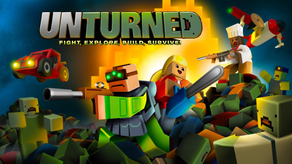 Try to Survive in the Open-World, Zombie-Infested Sandbox of Unturned