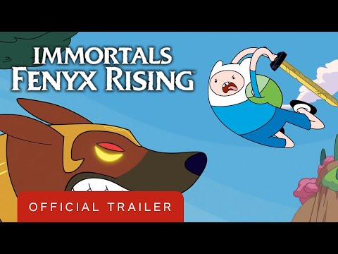 Immortals Fenyx Rising - Adventure Time Crossover Trailer