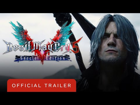Devil May Cry 5 Special Edition - Official Launch Trailer