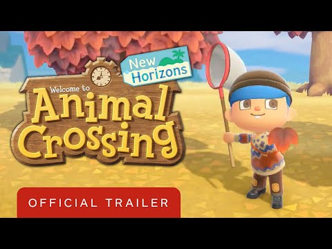 Animal Crossing: New Horizons - Exploring November Trailer