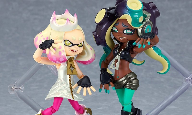 Goodsmile's Latest Splatoon 2 Figma Action Figures Are Off The Hook, Pre-Orders Open