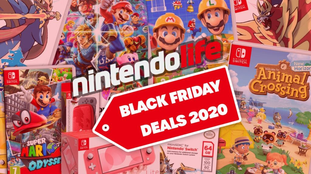 Guide: Nintendo Switch Black Friday 2020: Console Bundles, Games, Micro SD Cards And More